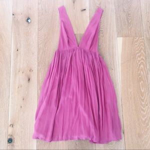 EMMILIA PINK MIDI DRESS